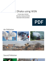Smart Dhaka Using WSN1