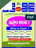 WHAT IS ISLAM IN TELUGU
