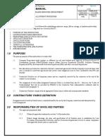 GI 2.718, Contractor Site Allotment Procedure