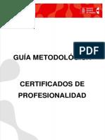 GuiametodologicadeCertificadosdeProfesionalidad201