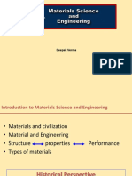 Introduction Material Science Engineering Monsoon 2018