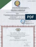 Sertifikat Akreditasi Kampus