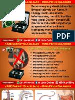 K Energy Black Jade K Link Di Kepulauan Seribu Utara WA 08114494181
