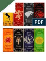 GoT Bookmarks