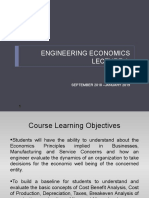 An introduction to Engineering Economy