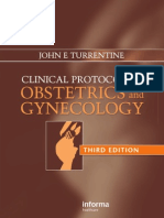 Clinical Protocols in Obstetrics and Gynecology 3rd Ed.