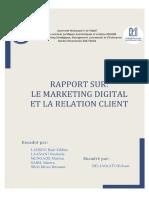 Le Marketing Digital Et La GRC
