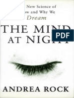 Andrea Rock - The Mind at Night - The New Science of How and Why We Dream
