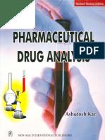 Pharmaceutical Drug Analysis