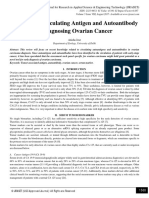 The Role of Circulating Antigen and Autoantibody in Diagnosing Ovarian Cancer