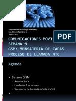 Clase 9. Comunicaciones M¾viles - Capas GSM-MobTermCall