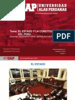 PLANTILLA UAP 2018-2 Sesion 2. El Estado y La Constitución Politica El Perú