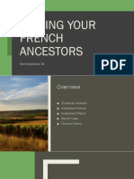 Finding Your French Ancestors