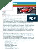 Scuderia Topolino - Technical Advice