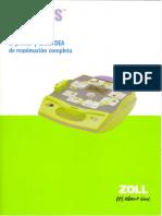 AED+PLUS Desfibrilador Zoll