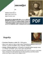 Grupa III Petrarka Za Crno Bijelo
