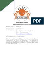 Protocolo AcariRaptor Rosas COLOMBIA