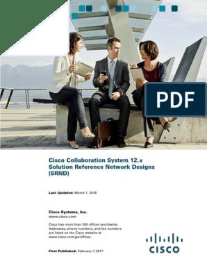Cisco Collaboration System 12x SRND pdf | Session Initiation