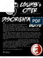 Otter Disorientation Guide