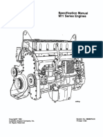 Specification Manual M11 SERIES ENGINE