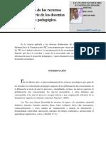 Articulo -Aprovechamiento de Los Recursos Tecnológicos Por Parte de Los Docentes en El Desarrollo Pedagógico - 2 (2)