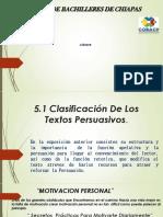 5.1 Clasificación de Los Textos Persuasivos 01