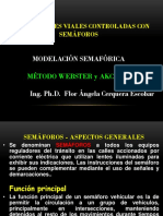 Intersec Semaforizada Metodo Webster y Akcelik ISem 2015