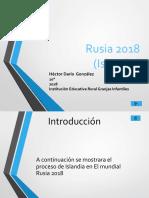 PresentacionMundialHectorDarioGonzalez10°