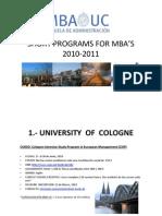 Short Programs 2010