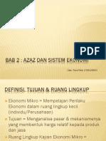 Ekonomi Mikro Bab 2 Sistem Ekonomi Islam