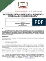 Actividades para desarrollar la inteligencia emocional en educacion infantil.pdf