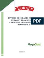 Esia Ex Post y Pma Floralp s