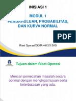 Uraian Tugas 1 Riset Operasi
