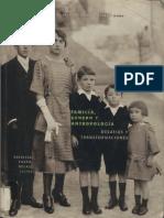 Patricia Tovar Rojas (ed.) - Familia, género y antropología - desafíos y transformaciones