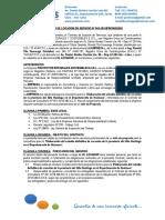 Contrato PROINSOS 005-2018 - Jefe de Proyecto