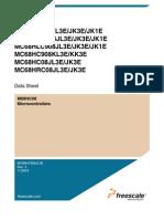 MC908JL3ECPE Freescale Semiconductor Datasheet 18773
