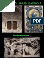 11-ROMÁNICO ARTES PLÁSTICAS