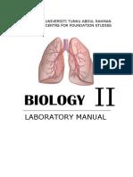 Lab Manual Bio II 201701