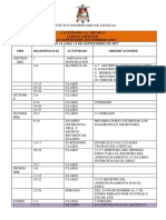 Calendario Académico SEP2017-FEB2018 IUL