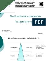 Planificación - Pronósticos