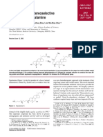 A Concise and Stereoselective Synthesis of Squalamine