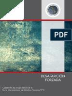 Cuadernillo Sobre Desaparicion Forzada Corte Idh