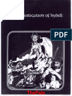 Investigation of Hydell - 1st Edition