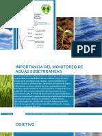 Monitoreo de Aguas Subterraneas Pozos