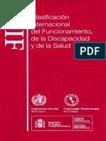 Clasificación internacional de discapacidad CIF