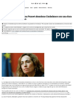 La Eurodiputada Carolina Punset Abandona Ciudadanos Con Una Dura Carta Contra La Dirección