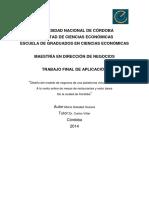 Ossana, María Soledad. Diseño del modelo de negocios de una plataforma virtual destinada a la venta online de mesas de restaurantes y resto bares de la ciudad de Córdoba.pdf