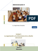 ADMINISTRACION II Semana 7-8 Manuales