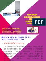REGIMEN DISCIPLINARIO DE LAS IE LEY 29944.pdf
