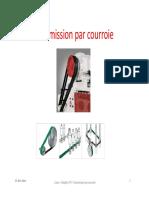 5_Transmission Par Courroie